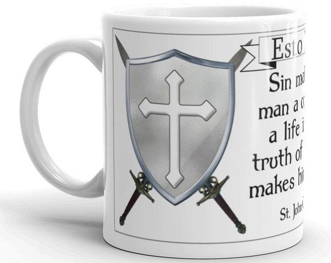 Esto Vir: Truth makes him bold