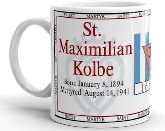 St. Maximilian Kolbe - Martyr of Charity