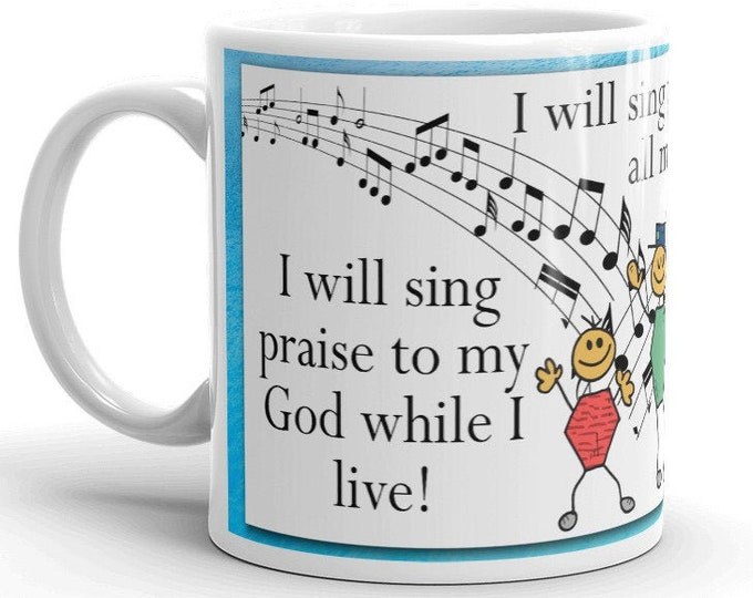 Psalms 104:33 -- Sing to the Lord
