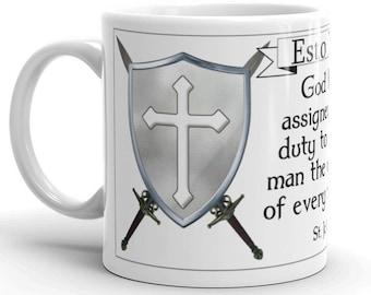 Esto Vir: Duty of every man