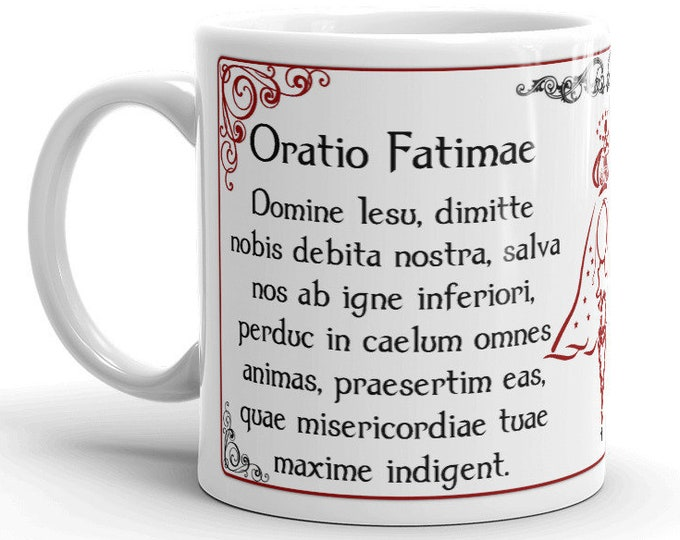 Oratio Fatimae -- Fatima Prayer