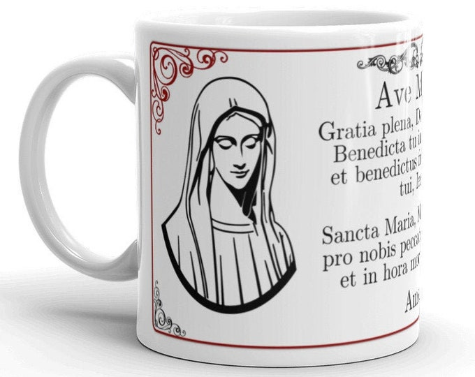 Ave Maria Latin Prayer