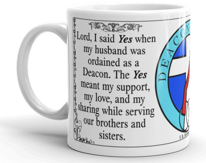 Deacon's Wife:  Lord I said Yes