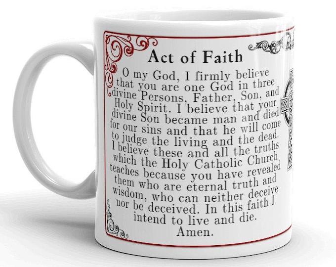 Actus Fidei -- Act of Faith