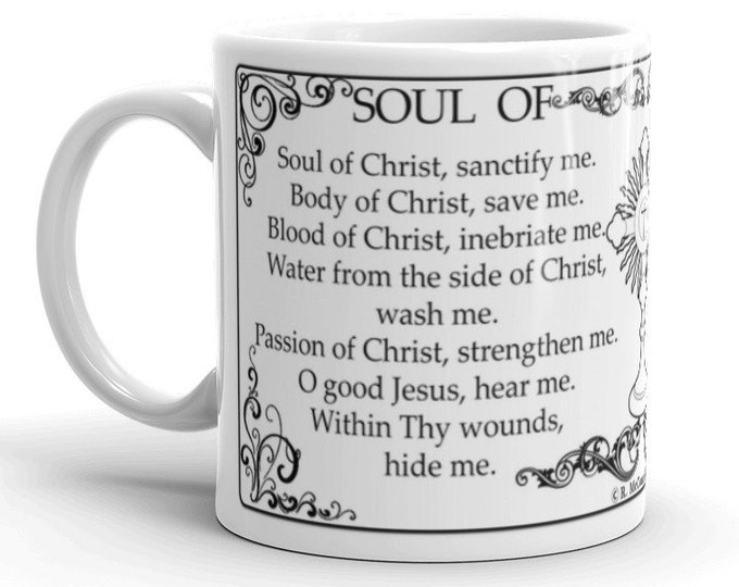 Soul of Christ prayer