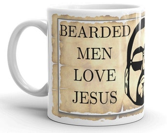 Bearded Men Love Jesus