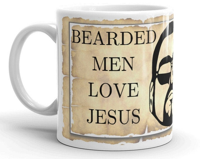 Bearded Men Love Jesus