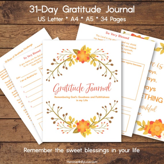 'TIS THE SEASON TO START A GRATITUDE JOURNAL!