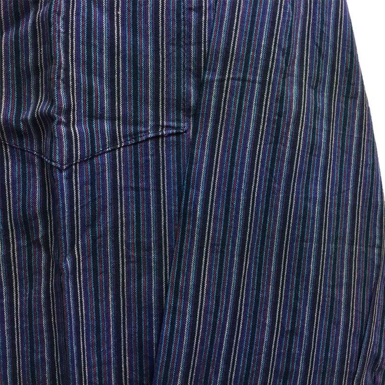 Bohemian Hippie Cotton Mandarin Collar Long Sleeve Shirt Kurta Tunic Suresh