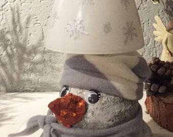 Sneeuwpop Lamp Etsy