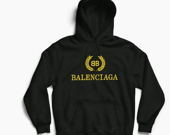 Balenciaga BB Inspired Hoodie Campaign Bernie Off-White Bape Yeezy Kanye  West Fear of God VLone Palace CDG Hype Hypebeast a3c49428358a