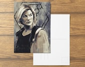 Thirteen A6 Doctor Who Postcard