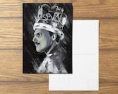 Bohemian Rhapsody A6 Freddie Mercury Postcard