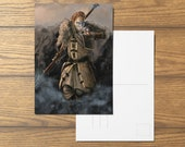 Anders A6 Dragon Age Inspired Postcard