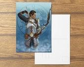Sebastian Vael A6 Dragon Age Inspired Postcard