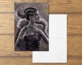 Noble A6 Fantasy Postcard