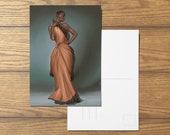 Vivienne A6 Dragon Age Inspired Postcard