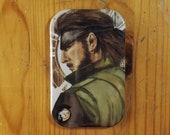 Big Boss Fridge Magnet Metal Gear Solid Inspired