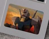 Sunrise RX-78 Gundam Vinyl Sticker Mecha Robot