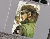 Big Boss Metal Gear Solid Inspired Vinyl Sticker