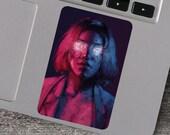 I Had Glitter In My Eyes Vinyl Sticker