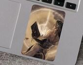 Tiefling Mage Fantasy Vinyl Sticker
