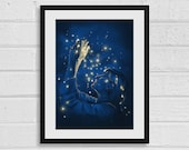 Look How They Shine For You A3 Doctor Who Inspired Art Print