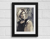 Thirteen A4 Art Print Doctor Who Inspired