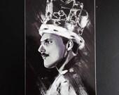 Bohemian Rhapsody Freddie Mercury Vinyl Sticker
