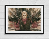 Revolver Ocelot A3 Metal Gear Solid Inspired Unframed Art Print