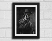 Nick Valentine A4  Fallout Inspired Unframed Art Print
