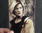 Thirteen Doctor Who Inspired Vinyl Sticker
