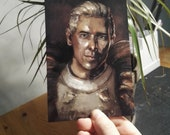 Cullen Rutherford A6 Dragon Age Inspired Glossy Postcard