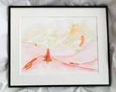You Are Not Alone Journey Inspired Watercolour Painting