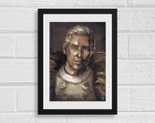 Cullen Rutherford A3 Dragon Age Inspired Unframed Art Print