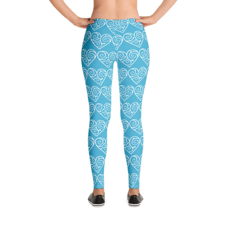 Leggings,spandex,tights,exercise pants,jogging pants,workout pants,workouts,heart leggings,