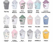 Baby 100% Cotton Swaddle Blanket Newborn Baby Wrap Baby Blankets Burrito For New Born Baby Infant Toddler Happy Sleep Soft Horn Blanket