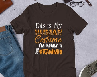 82d4fc9cf I'm Really A Grammie Tee - Mimi Shirt - Nana Shirt - Grammy Shirt - Great Grandma  Gift - Grandmother T-Shirt - Funny Halloween Birthday Gift