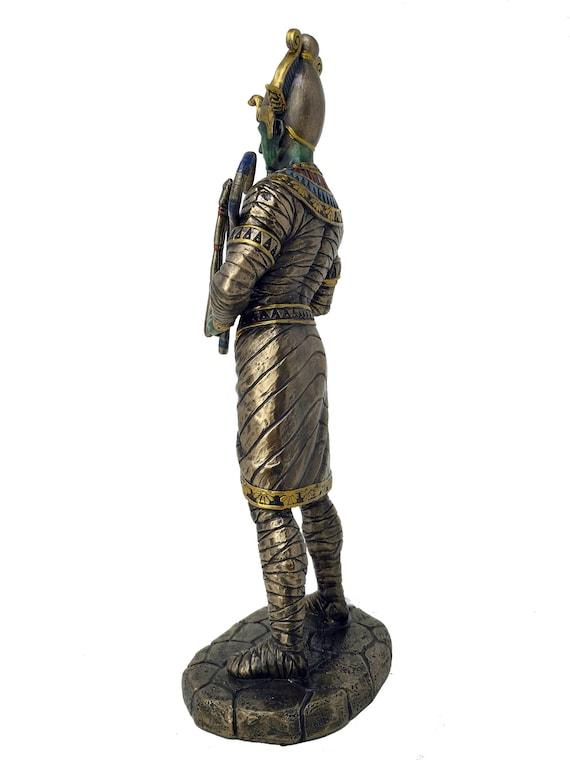 Superb Large Bronze HATHOR Egyptian God//Deity Statue//Sculpture//Ornament