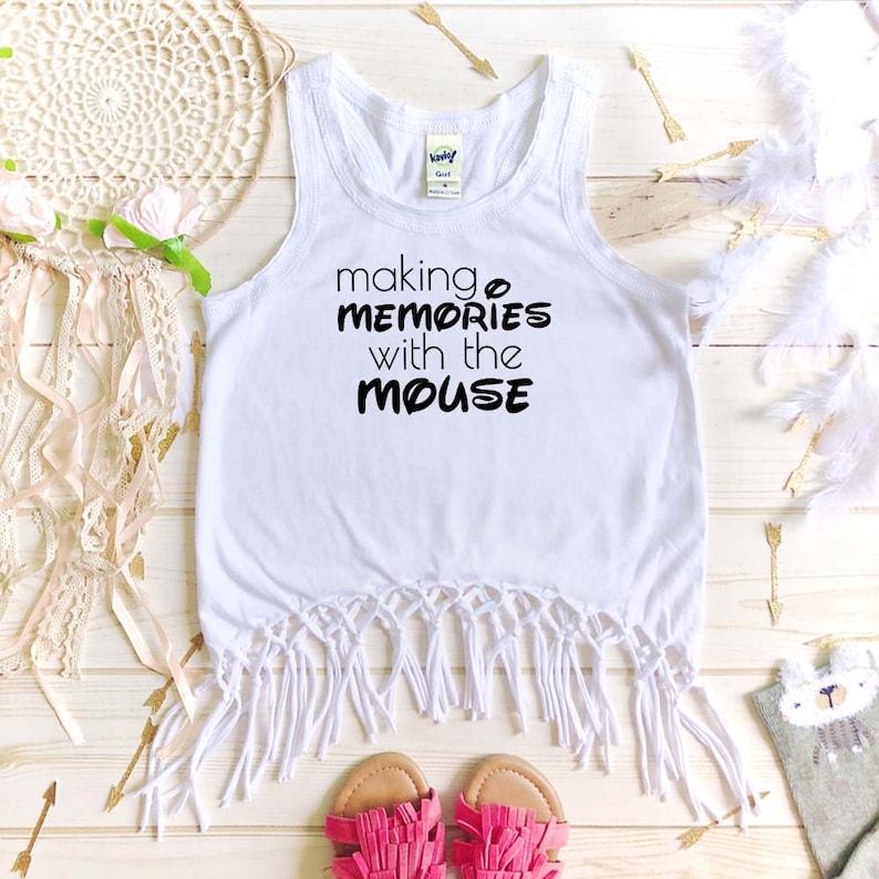 1st Disney Trip Shirt Disney Vacation Mickey Mouse Shirt Making Memories With The Mouse Disney Tank Disney Bound Disney shirt