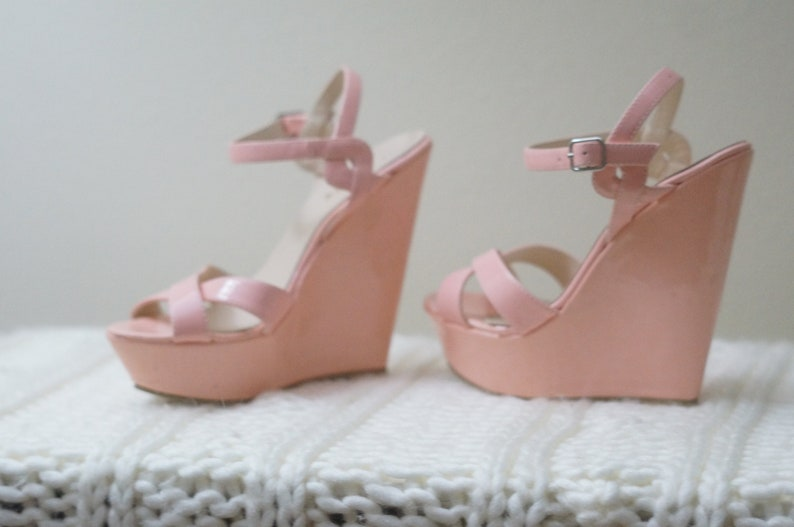 08a34758b757f Size 6 Candy Pink Wedges/Heels/Pumps