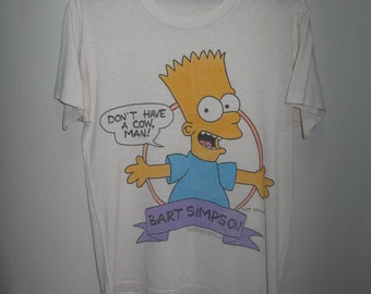 3e0d904ca Vintage 90s tv Bart Simpsons shirt