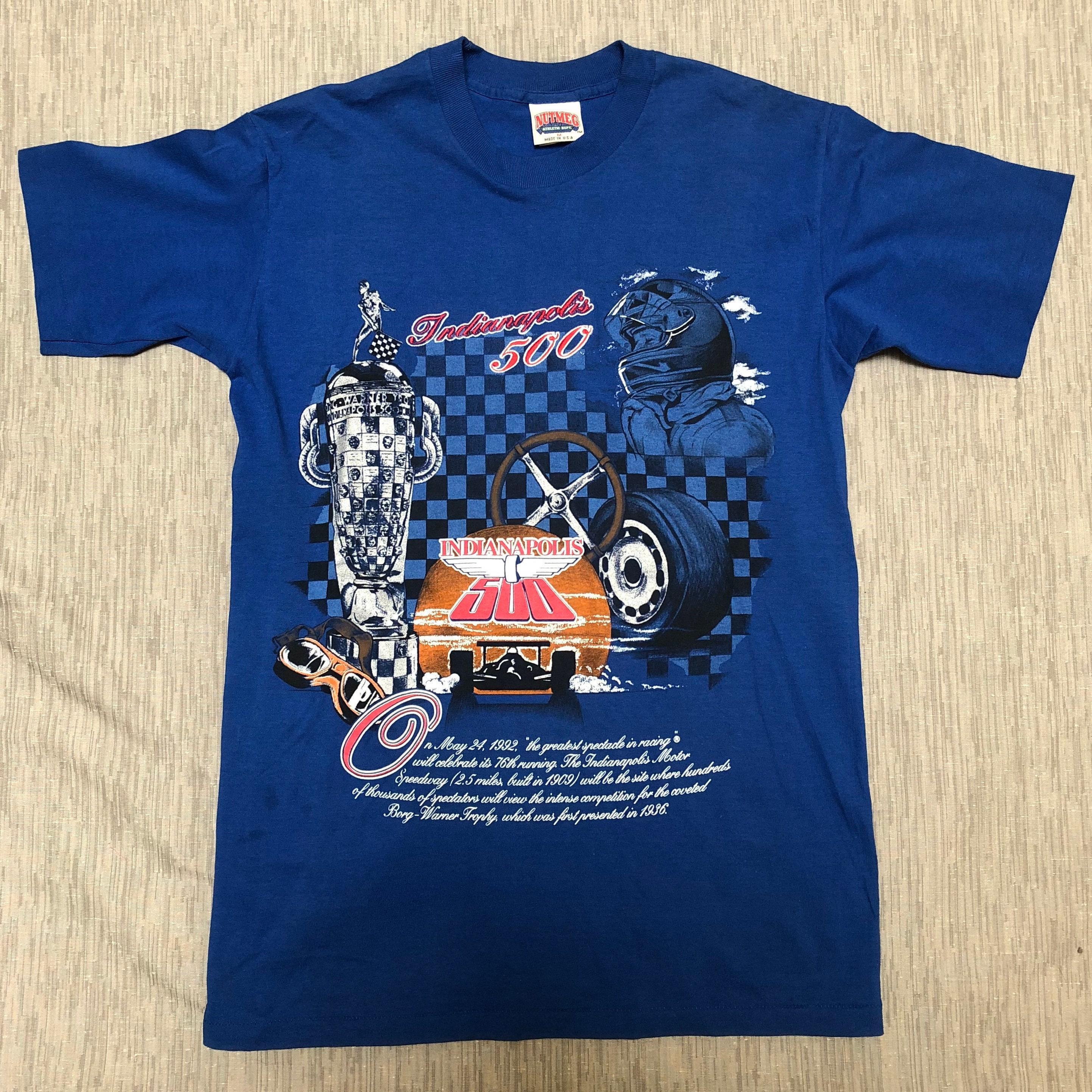 90 S Indianapolis Indy 500 Tee De Brodé Usines De Noix De Tee