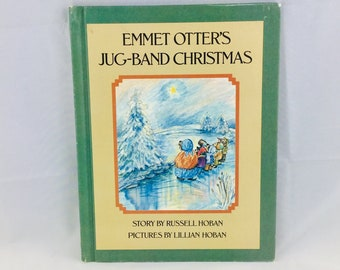 Emmet Otters Jug Band Christmas Book.Jug Band Christmas Etsy