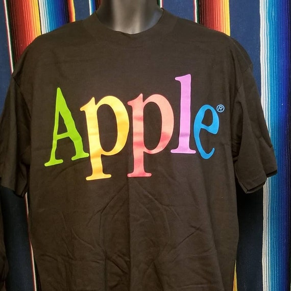 Vintage Apple single stiched t shirt