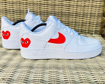 free shipping ba03f 454b0 Nike Air Force 1 - Com Heart