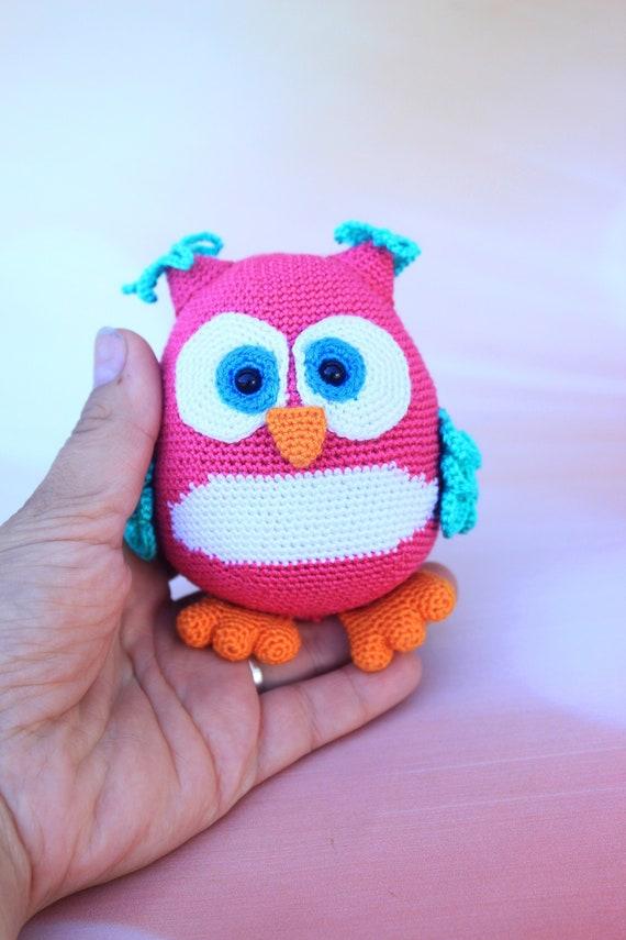 FREE ! Owl Amigurumi pattern | arkadul | 855x570