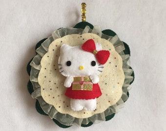 Hello Kitty Felt Hangable Photo Picture Frame Etsy