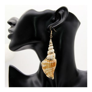 brown earrings Shell earrings hoops Joyas para el d\u00eda. Aros de acetato Pendientes de acetato Pale S Thin Acetate earrings
