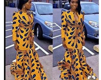 kitenge dress etsy